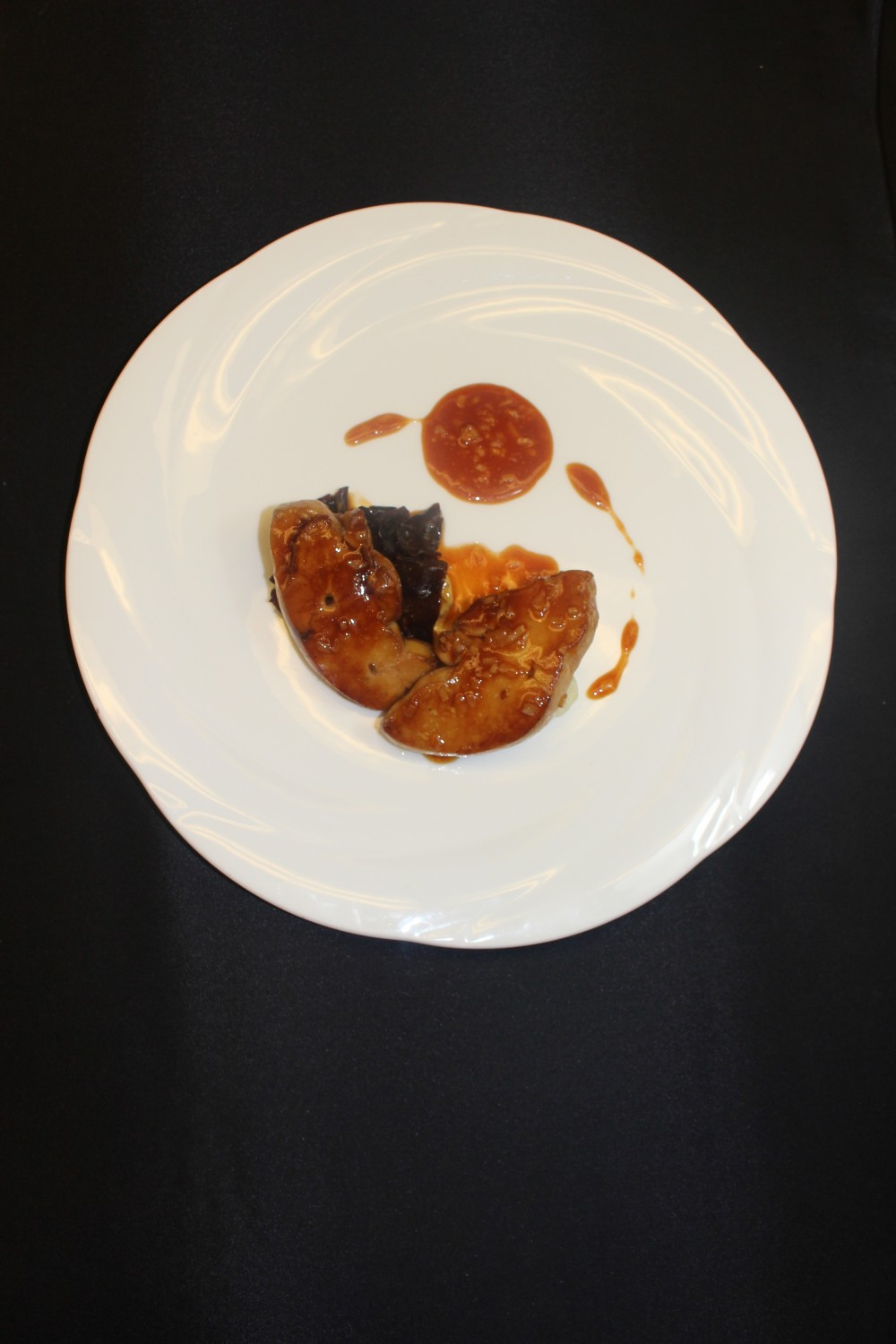 (Français) 露杰蚝油肥肝 Braised Rougié foie gras in oyster sauce 1